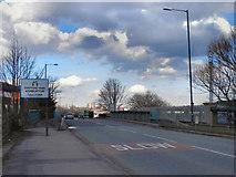 SJ7797 : Trafford Park, Ashburton Road West by David Dixon