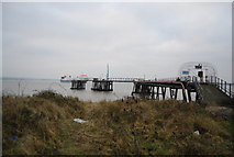 TQ7076 : Jetty near Cliffe Fort by N Chadwick