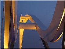 NZ4519 : Infinity Bridge by Peter Gill