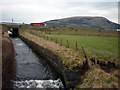SD5381 : Farleton Beck flowing under the M6 by Karl and Ali
