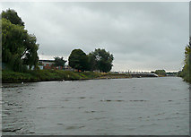 SO8453 : The River Severn at Diglis, Worcester by Roger  Kidd