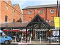 TR0161 : New entrance to Faversham Tesco's by David Anstiss