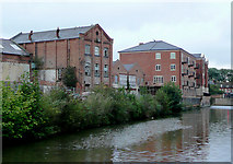 SO8554 : Buildings ancient and modern, Worcester by Roger  Kidd