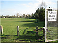 SP2154 : Stratford-upon-Avon RFC rugby pitches by Robin Stott