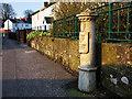 J3973 : Boundary Post, Belfast by Rossographer