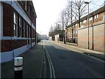 SU6400 : Looking from Crasswell Street into Landport Street by Basher Eyre