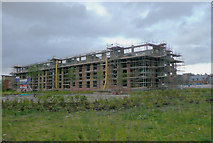SO8453 : Diglis Water development, Worcester by Roger  Kidd