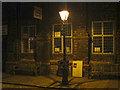 TQ9220 : Lamp post on High Street by Oast House Archive
