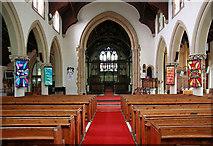 TQ4094 : St John the Baptist, Buckhurst Hill - East end by John Salmon
