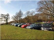 TQ2652 : Car park, Reigate Hill by Derek Harper