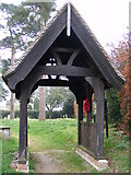 TM3669 : Lych Gate of St Peter's Church,Sibton by Geographer