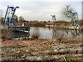 SJ7496 : Davyhulme Wastewater Treatment Works - Sludge Hoppers by David Dixon