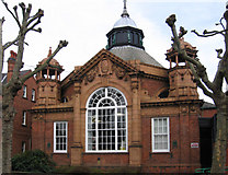 SK5319 : Loughborough - Carnegie Library by Dave Bevis