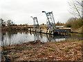 SJ7496 : Davyhulme Wastewater Treatment Works - Wharf and Sludge Hoppers by David Dixon