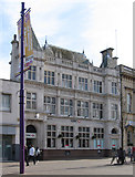 SK5319 : Loughborough - HSBC Bank by Dave Bevis