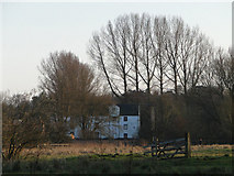 TG2105 : Keswick mill from Marston marshes by Adrian S Pye