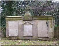 NT3366 : Gravestones of the Marquesses of Lothian, Newbattle Abbey by kim traynor