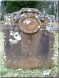 NT3366 : 18thC gravestone, Newbattle by kim traynor