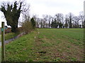 TM3659 : Footpath to Hall Farm & Burnter's Covert by Adrian Cable