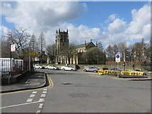 SD8913 : Rochdale:  Parish Church of St. Chad by Dr Neil Clifton