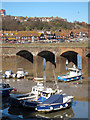 TR2335 : Folkestone harbour and viaduct by Oast House Archive