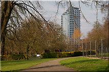 TQ3265 : Park Hill, Croydon by Peter Trimming
