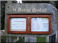 TM3761 : St.Mary's Church Notice Board by Adrian Cable