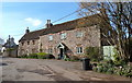 ST5570 : Cottages near Long Ashton Church, Bristol by Anthony O'Neil