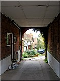 SU9948 : Entrance to The Valley, St. Catherine's, Guildford by P L Chadwick