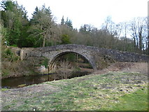 NT3366 : Maiden Bridge over the South Esk, Newbattle Abbey by kim traynor