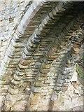 NT3366 : Maiden Bridge masonry, Newbattle by kim traynor