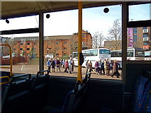 ST5772 : Coach park at the SS Great Britain, Bristol by Anthony O'Neil