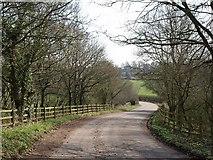 ST0104 : Lane to Westcott by Derek Harper