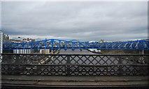 NZ2463 : QE II Bridge across the Tyne by N Chadwick