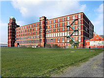 SJ6699 : Butts Mill, Leigh by David Dixon