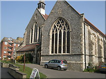 TQ7407 : St Barnabas church, Bexhill by Paul Gillett