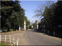 TL1344 : Entrance to Shuttleworth College, Old Warden by PAUL FARMER