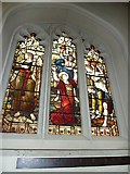 TQ2475 : All Saints, Fulham: stained glass window (10) by Basher Eyre