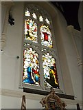TQ2475 : All Saints, Fulham: stained glass window (12) by Basher Eyre