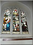 TQ2475 : All Saints, Fulham: stained glass window (16) by Basher Eyre