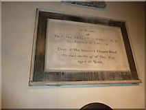 TQ2475 : All Saints, Fulham: memorial (6) by Basher Eyre