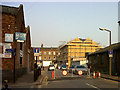 TQ3978 : New traffic barrier on Old Woolwich Road by Stephen Craven