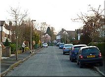 SJ7886 : Highfield Road, Hale, Trafford by Anthony O'Neil