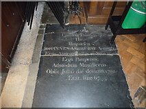 TQ2475 : All Saints, Fulham: floor memorial (v) by Basher Eyre