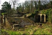 TQ3370 : Italian terraces, Crystal Palace Park (3) by Julian Osley