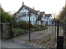 SJ7886 : Detached villa in Hill Top, Hale, Cheshire by Anthony O'Neil