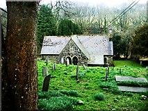 SM9611 : St Justiniun's Church by Deborah Tilley