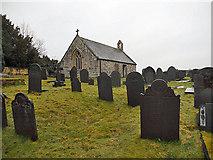 SH5571 : Church on Church Island by Row17