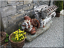 SD3097 : Aircraft wreckage, Coniston by michael ely