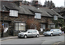 NY3704 : Cottages on King Street, Ambleside by michael ely